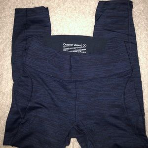 Size Small Outdoor Voices Tech Sweat 3/4 leggings